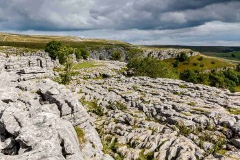 Malham Cove limestone pavement