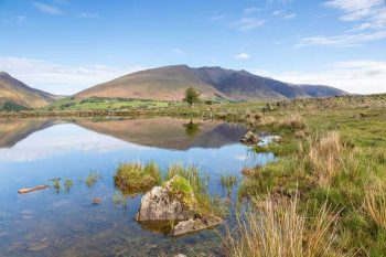 Blencathra reflections in Tewet Tarn