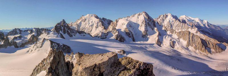 AIguille du Tour summit panorama