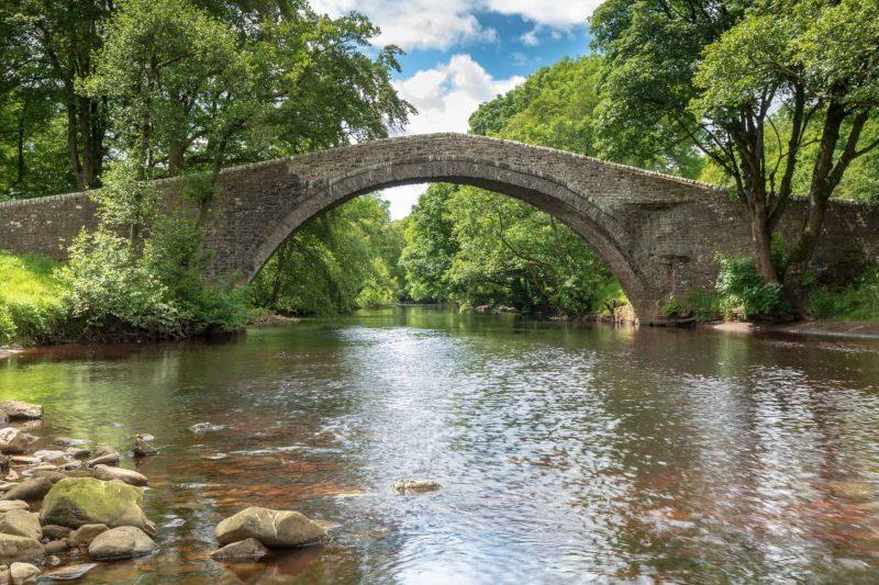 Ivelet bridge Swaledale print