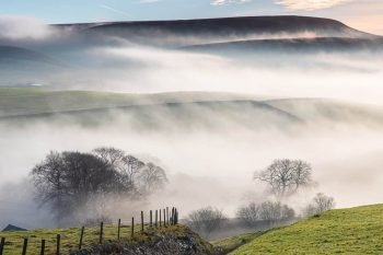 Misty Peak District Print