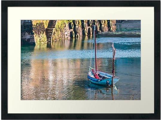 Sailing boat framed