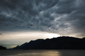 Stormy skies - Lake Garda