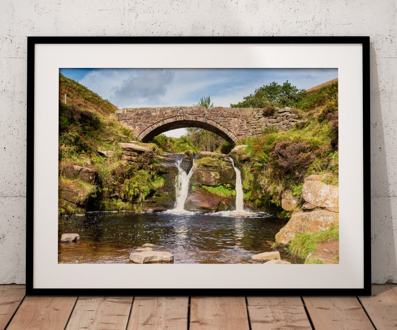 Three Shires Head framed