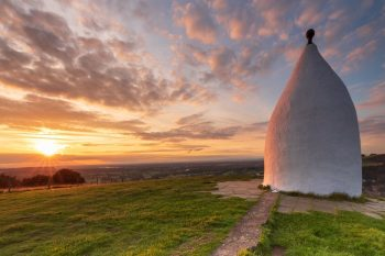 White Nancy Sunset