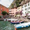 Limone old harbour print