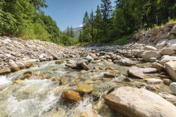 River Arve Chamonix prints