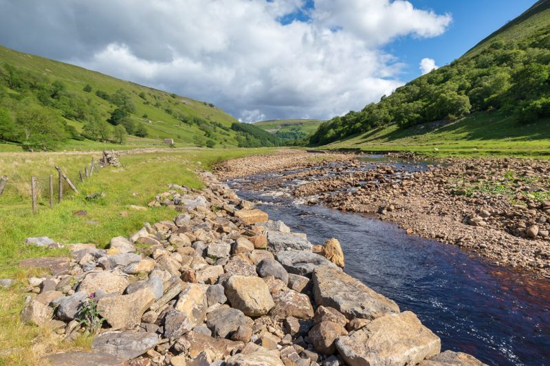 River Swale in Upper Swaledale